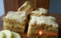 Sypaný jablkový koláč Vegan, Muffin, Cooking Recipes, Breakfast, Sweet, Desserts, Food, Beauty, Kitchens