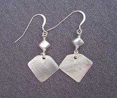 Dangle Earrings Metal Dangles Sterling by FirednWiredJewelry