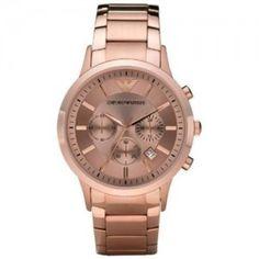 Emporio-Armani-AR2452-Reloj-crongrafo-de-cuarzo-para-hombre-correa-de-acero-inoxidable-chapado-color-oro-rosa-cronmetro-0