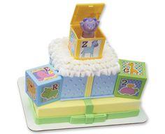 ABC Baby Blocks Signature DecoSet® Cake Topper