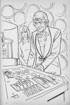Dr Who Colouring Book If There Is One Thing That Brings Me Back To Being A Kid Its Early Seventies Doctor Especially Jon Pertwee E