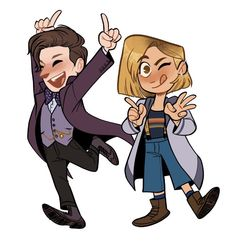 The Doctor looking spiffy All Doctor Who, Rose And The Doctor, Doctor Who Fan Art, First Doctor, 13th Doctor, Eleventh Doctor, Doctor 13, Up Book, Torchwood