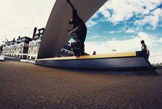 """Frame Video Magazine (@framevideomag) Instagramissa: """"Krooged by Alex Lekinho #framevideomag #studioeddy #skateboarding #sk8 #skate #board #roll #flip…"""" Skate Board, Skateboarding, Opera House, Magazine, Studio, Building, Frame, Picture Frame, Skateboard"""