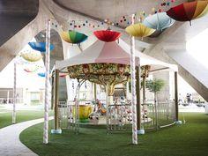 Parque de diversões da Chanel em Seul (Foto: Divulgação)