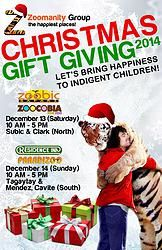 Zoomanity Group Christmas Giving in Paradizoo and Residence Inn, Tagaytay