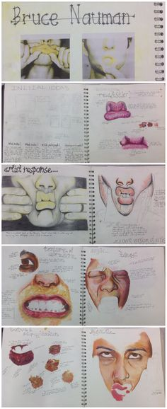 Development for AS unit Lance, CNC Human Condition A Level Art Sketchbook, Sketchbook Layout, Sketchbook Pages, Sketchbook Inspiration, Sketchbook Ideas, Artist Research Page, Art Alevel, Art Diary, Identity Art