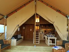 Safari Woody Mezzanine à ossature bois   Sunair Lodge