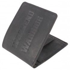 Mustard Warrior Wallet - Black