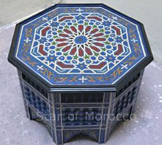 Captivating Moroccan #painted #furniture