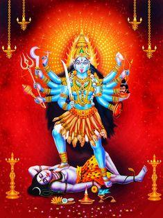 Maa Kali Images, Durga Images, Mother Kali, Divine Mother, Angry Lord Shiva, Maa Durga Image, Durga Ji, Kali Mata, Kali Goddess