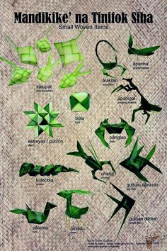Coconut leaf weaving