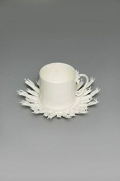 Coffee Cup and Saucer (1 ring) by Peter Ting (2004) from Pearl Lam Galleries