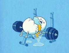 Egg gym