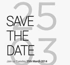 So now it's official. The HTC M8 release will held on March 25 in London and New York. Currently, the Taiwanese send the invitations for the event