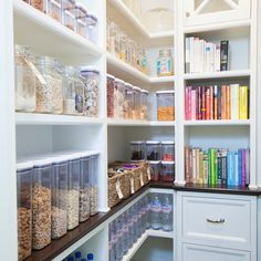 15 pantry ideas and kitchen pinterest pantry ideas pantry and these super organized spaces will serve to inspire your design and if you dont even have a pantry feel free to scroll down and immerse yourself in an solutioingenieria Gallery