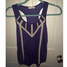 Great summer top from Nordstrom! Super cute lush tank from Nordstrom! Pair with a cute pair of shorts and you're good for any occasion! It was only worn 3 times! Lush Tops