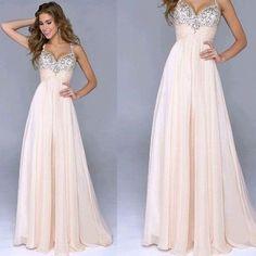 2017 Custom Made Charming Chiffon Prom Dress,Spaghetti Straps Prom Dress,Sweetheart Prom Dress, Beading Prom Dress