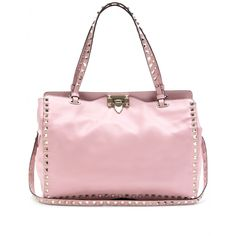 mytheresa.com - Valentino - ROCKSTUD SMALL LEATHER TOTE - Luxury Fashion for Women / Designer clothing, shoes, bags