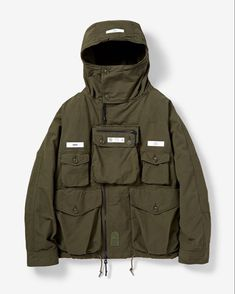 """GTE on Instagram: """"@neighborhood_official TACTICAL SMOCK / CN-JKT Please @ your mates,friends,family or whoever you know that would like GTE."""" Mens Outdoor Fashion, Mens Outdoor Clothing, Streetwear Jackets, Work Jackets, Anorak Jacket, Outdoor Outfit, Urban Outfits, Military Fashion, Mens Clothing Styles"""