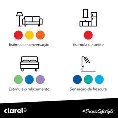 Já alguma se questionou sobre quais as melhores cores para cada divisão da casa? Não há dúvida que as cores transmitem-nos sensações e que cada divisão está associada a uma sensação diferente.