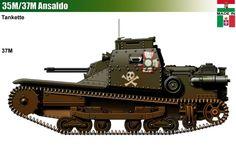35M & 37M Tankettes