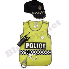 #Childrens kids boys police #policeman fancy dress costume #outfit uniform 3-7 yr, View more on the LINK: http://www.zeppy.io/product/gb/2/151902969397/