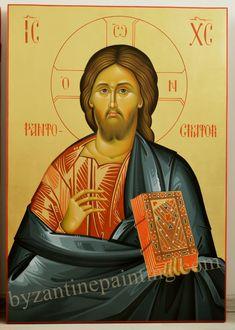 Byzantine icon - Jesus Christ
