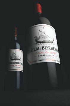 Jéroboam (5L) Château Beychevelle 2008 -     #SaintJulien #Bordeaux #GrandFormat #VinMillesima #Beychevelle (©Photo Millésima)