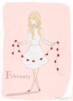 February delicate