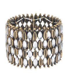 Wide Leaf Bracelet - StyleSays  maybe could combine the pop-top lamp to this