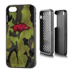 Arkansas Razorbacks Apple iPhone 5/5s Rugged Case
