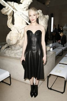 See front row celebrity photos from the Louis Vuitton Fall 2017 Ready-to-Wear fashion show - March 7, 2017