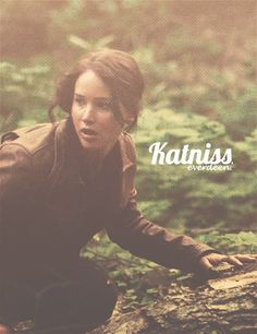 Katniss Everdeen by Jennifer Lawrence, The Hunger Games, 2012