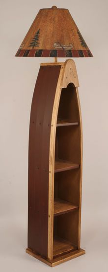 1000 images about boat ideas on pinterest boats anchor for Multi shelf floor lamp