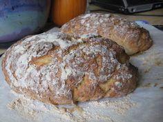 Ginger Lemon Girl: Gluten Free Vegan Crusty Bread Recipe