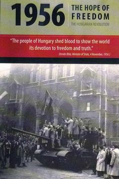 The Hungarian Revolution of 1956 was a revolt against Soviet-imposed policies, lasting from October 23 to November Budapest Hungary, Cold War, World History, October 23, Communism, Soviet Union, Photos, Revolutionaries, Country