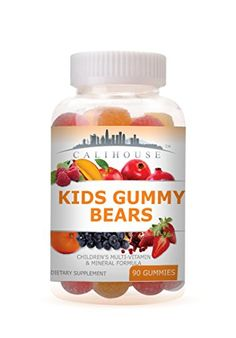 $19.99  *** Details can be found by clicking on the image. Pantothenic Acid, Gummy Bears, Coconut Oil, Vitamins, Jar, Canning, Image, Food, Home Canning