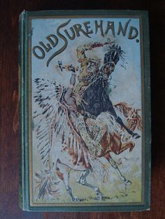 Old Surehand III - cover of a very early edition, and one of my favourite, as it depicts a scene so typical for Karl May's imagination - and probably very difficult to film.