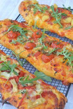 Pizzabrood of pizza stokbrood maken