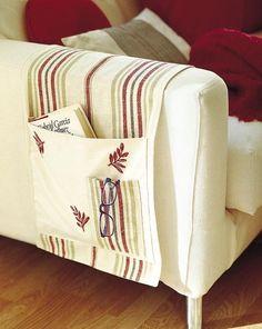 Con hilo, aguja y un poco de destreza puedes transformar piezas de tela en ideas de diseño práctico para la casa. Antes de ponerte manos a la obra, lava todos los tejidos para evitar que, una vez...