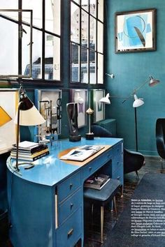 Florenze Lopez' Paris home office space | 10 Best Office Spaces | Camille Styles