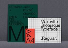 giorkonducta:  Aubette & Maxéville - Typefaces by Mark Niemeijer