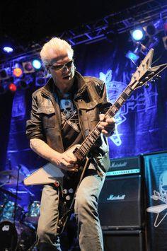 Michael Schenker (Scorpions, UFO, The Michael Schenker Group, McAuley Schenker Group, Contraband, G3, Schenker Pattison Summit)