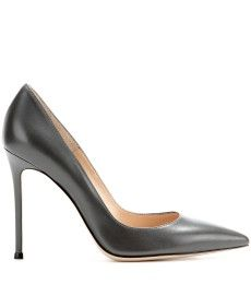 Gianvito Rossi - Leather pumps - mytheresa.com GmbH