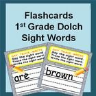 First Grade Dolch Sight Words List Flash Cards {Dolch Sight Words} 1st Grade Dolce Sight Words List   Sight Words Flash Cards - Say It, Trace It, W...