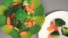 CESTO Acessório PANELA Para De Cozimento A VAPOR Verduras Legumes - Adrishop - Sua Loja de Variedades