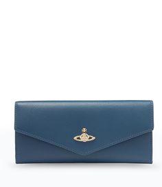 Blue Opio Saffiano Wallet 321292 #SS16