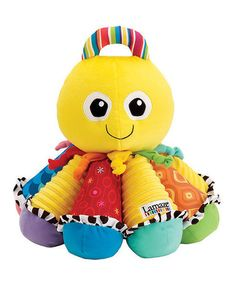 Take a look at this Octotunes Plush Toy by Lamaze on #zulily today!