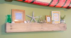 Reclaimed Wood Light Floating Shelf Home Decor by SitkaTreesSaltySeas on Etsy