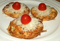 Sýrovo - cuketové lívanečky posypané sýrem. Autor: Romča
